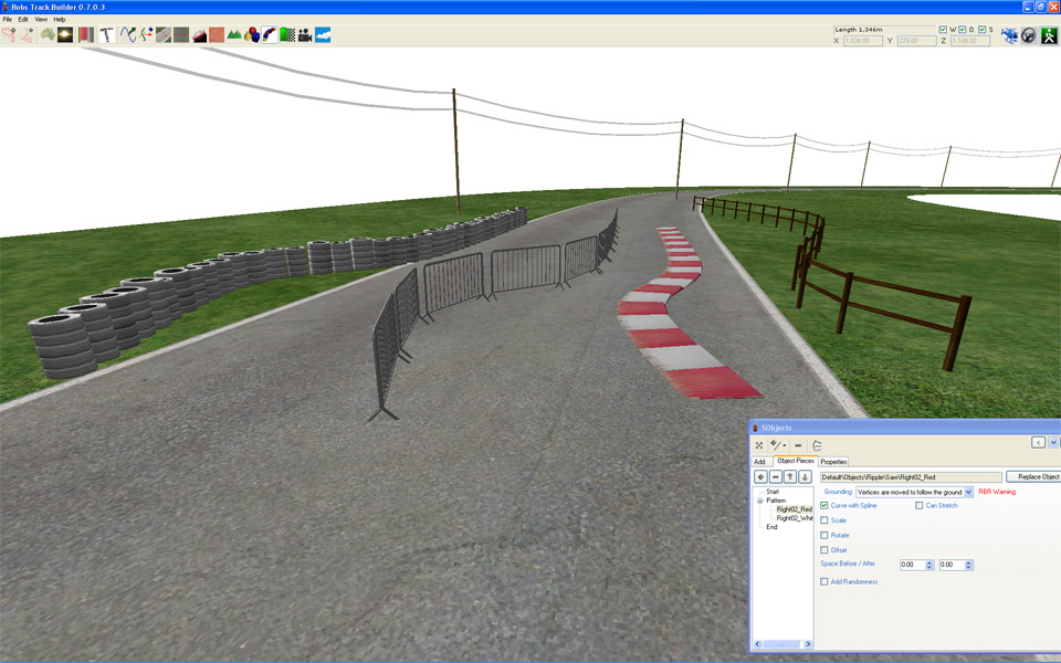 how to add tracks to rfactor